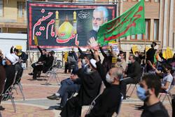 تجمع محکومیت هتک حرمت به دین مبین اسلام و رسول اکرم(ص) در اردبیل