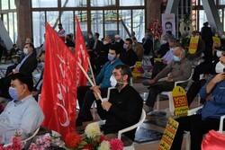 مردم رشت در پی توهین نشریه فرانسوی تجمع اعتراضی برگزار کردند