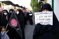 تجمع اعتراضی تبریزیها در محکومیت اهانت نشریه فرانسوی برگزار شد