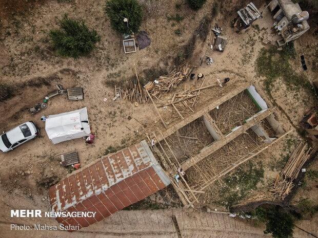 زلزله زدگان رامیان نگران سرمای پاییز و زمستان