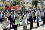 تجمع طلاب، دانشجویان و مردم کرمانشاه در محکومیت نشریه فرانسوی