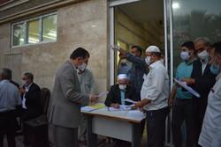 شورانتخاباتی در غرب گلستان/ مردم با رعایت پروتکل ها پای صندوق آمدند