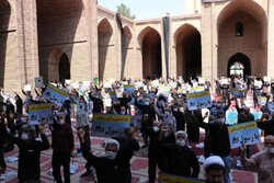 ورامینی ها اهانت به پیامبر اکرم(ص) را محکوم کردند