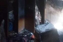 آتش سوزی منطقه مسکونی در گناوه مهار شد