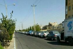 صفهای طولانی CNG در تایباد/ بخش خصوصی پای کار نمیآید