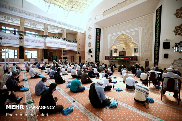 1st Friday prayers holds in Gorgan in current year amid COVID