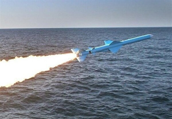 Surface-to-surface missile fired from Ghadir-class submarine