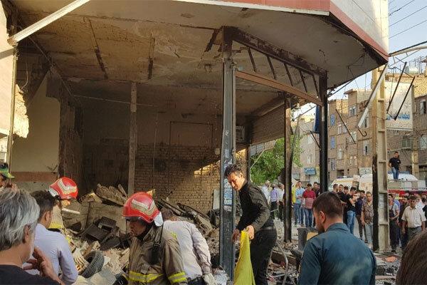 جزئیات حادثه انفجار ساختمان مسکونی نسیم شهر تشریح شد