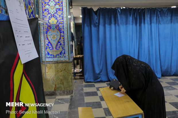 2nd round of 11th parliamentary election in Ahvaz