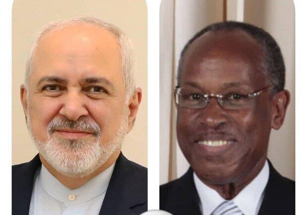 FM Zarif thanks St. Vincent FM for rejecting US illegal move
