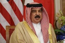 ملك البحرين يعبر عن الخيانة بالقضیة الفلسطینیة باتفاق السلام