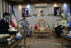 Iran, China stress police coop.