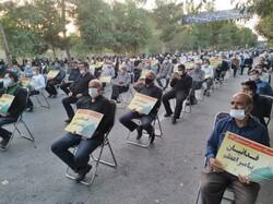 تجمع مردم کاشان در محکومیت اهانت نشریه فرانسوی به پیامبر رحمت (ص)