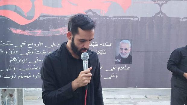 شور عاشورایی روضه و حسینیه سیار در ورامین