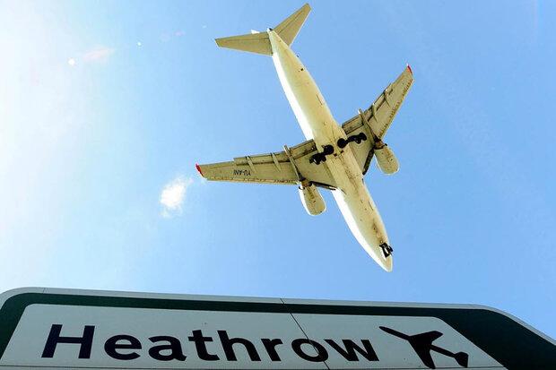 تعداد مسافران فرودگاه هیتروی لندن ۸۲ درصد سقوط کرد
