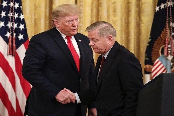 گفتگوی ترامپ و سناتور گراهام درباره ترور سردار سلیمانی