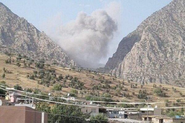 ارتش ترکیه مجددا شمال عراق را هدف قرار داد