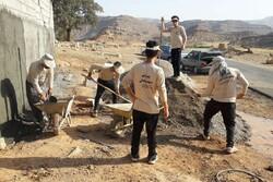 فعالیت گروه جهادی شهید عبدالهی در شهرستان جلفا