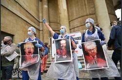 تظاهرات ضد دولتی کادر بهداشت و درمان انگلیس