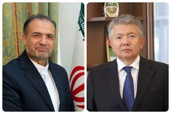 Tehran, Bishkek discuss expansion of economic ties