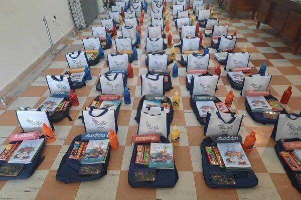 ۵۰۰۰ بسته نوشت افزار بین دانش آموزان نیازمند گلستانی توزیع می شود