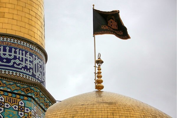 مراسم سوگواری رحلت پیامبر اعظم (ص) در حرم ثامن الحجج (ع)