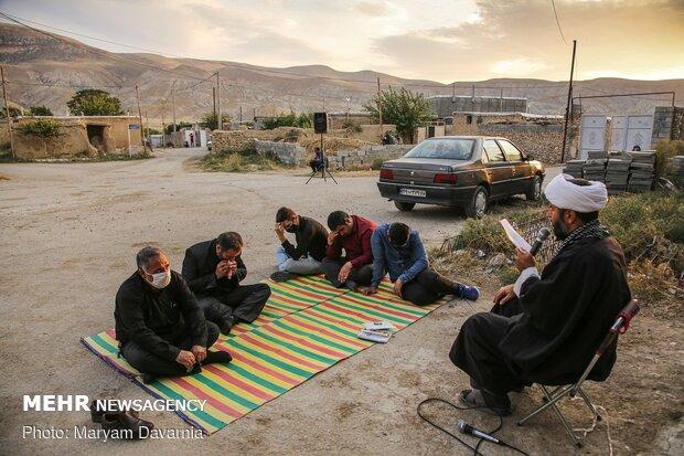 روضه خوانی حاج آقامحمدی برای اهالی روستای بندیغمور
