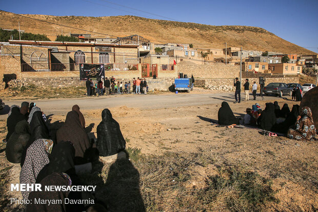 برگزاری بیست و پنجمین مجلس روضه شهدای کربلا در روستای حسن آباد