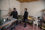 بازدید مدیرعامل خبرگزاری مهر از روستای دیال آباد در تاکستان