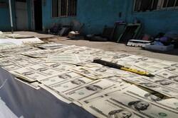 باند چاپ دلارهای تقلبی در بوکان شناسایی و متلاشی شد
