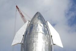 نمونه استارشیپ به ارتفاع ۶۰ هزار فوتی پرواز می کند