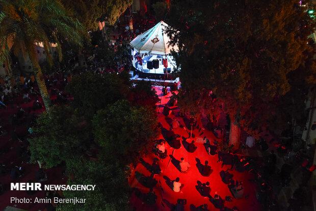 مراسم عزاداری شهادت امام سجاد(ع) در شیراز