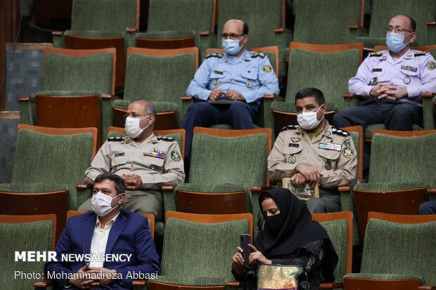 مراسم افتتاح 2nd intl. 'Peace & Defense' book fair opens in Tehranنمایشگاه بین المللی کتاب صلح و دفاع