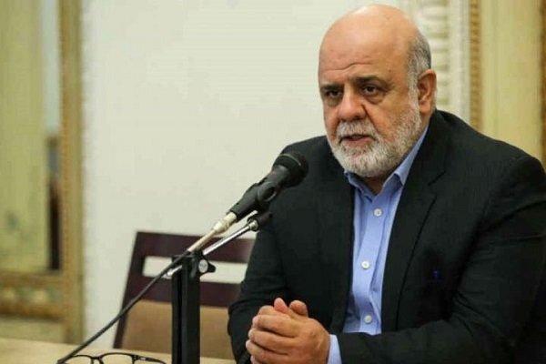 السفير الايراني في العراق يعزي بوفاة الاب الروحي للطائفة الأيزيدية