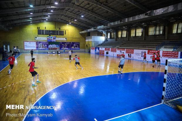 Iran men's junior handball team holding camp in Tehran