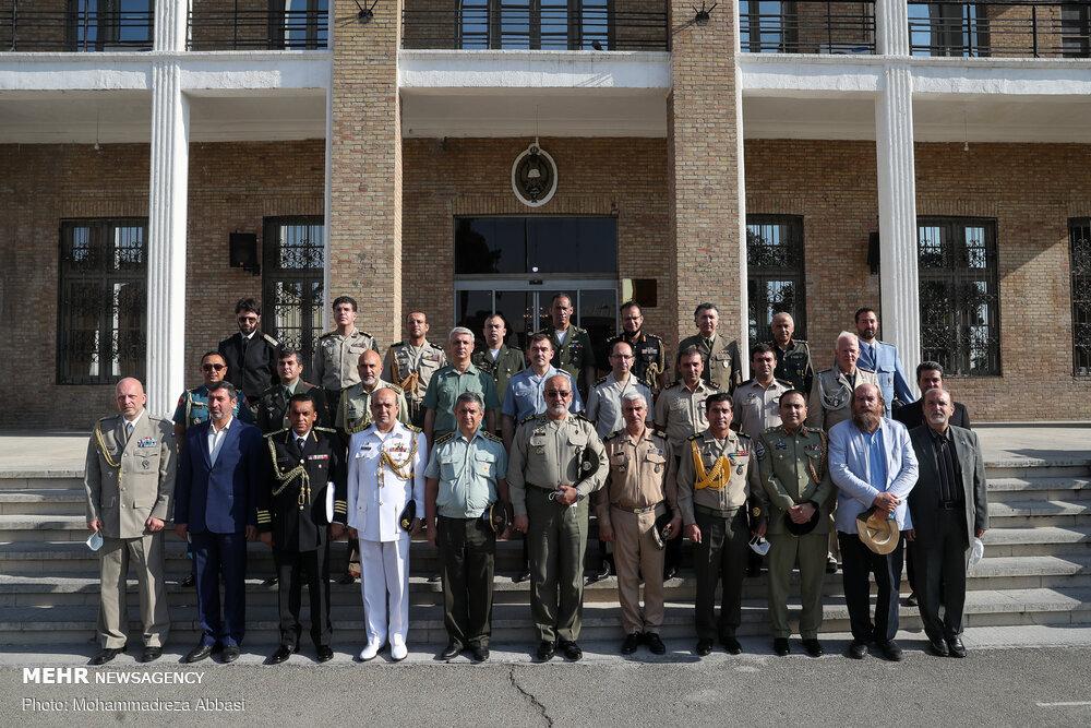 مراسم افتتاح دومین نمایشگاه بین المللی کتاب صلح و دفاع
