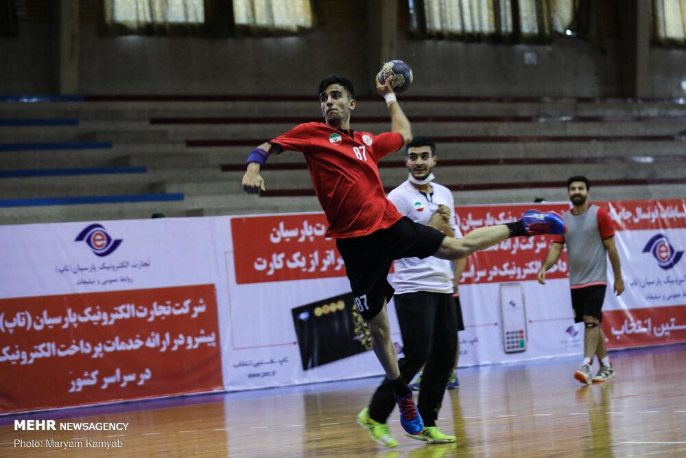برگزاری اردوی تیم ملی هندبال جوانان در کرمانشاه