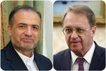 Iranian, Russian diplomats discus Syria's developments