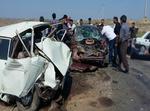 ۱۱ نفر در حادثه تصادف ۴ خودرو مصدوم شدند