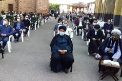 تجمع اعتراضی مردم دیار هزارسنگر علیه اهانت به مقدسات اسلامی