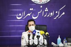 افزایش ۷ درصدی ماموریتهای اورژانس تهران در روزهای آلودگی هوا