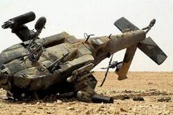 Suriye'nin kuzeyinde ABD'ye ait askeri helikopter düştü