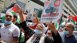 مسيرات غضب شعبي عارمة ترفض الخیانة العربیة لفلسطین