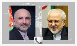 ظريف يعلن استعداد إيران لتقديم أية مساعدة لعملية السلام في أفغانستان
