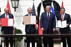 عرب امارات اور بحرین نے اسرائیل کے ساتھ سازشی معاہدے پر دستخط کردیئے
