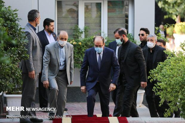 علي اكبر ولايتي يلتقي بنوري المالكي / صور