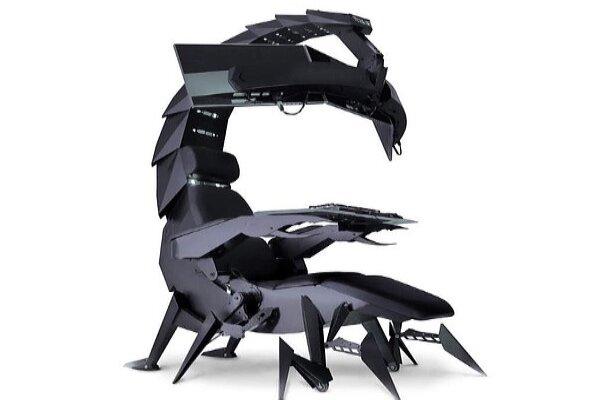 صندلی بازی های رایانه ای به شکل عقرب!