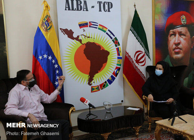 Venezuelan amb. talks of Tehran-Caracas bilateral relations