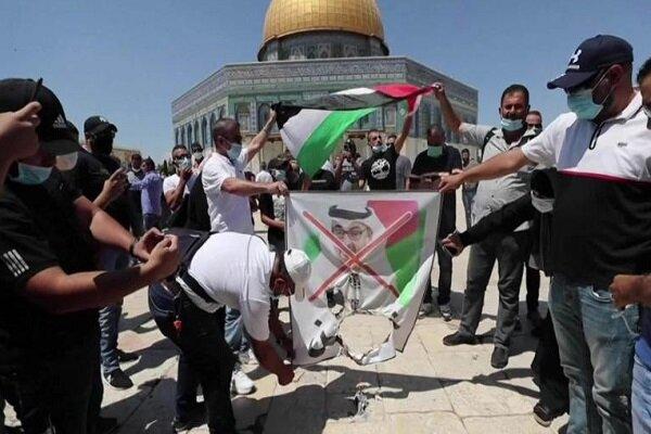 خائن عرب ممالک کا اسرائیل کے ساتھ اتحاد ، شیطانی اتحاد ہے