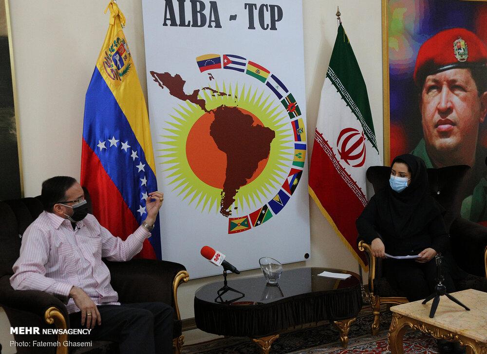 Iran-Venezuela ties offering anti-unilateralism model: envoy